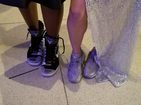 Details of guest sneakers at the AGORA Sneakerball