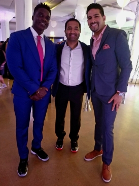 Guests of the 2nd Annual AGORA Sneakerball